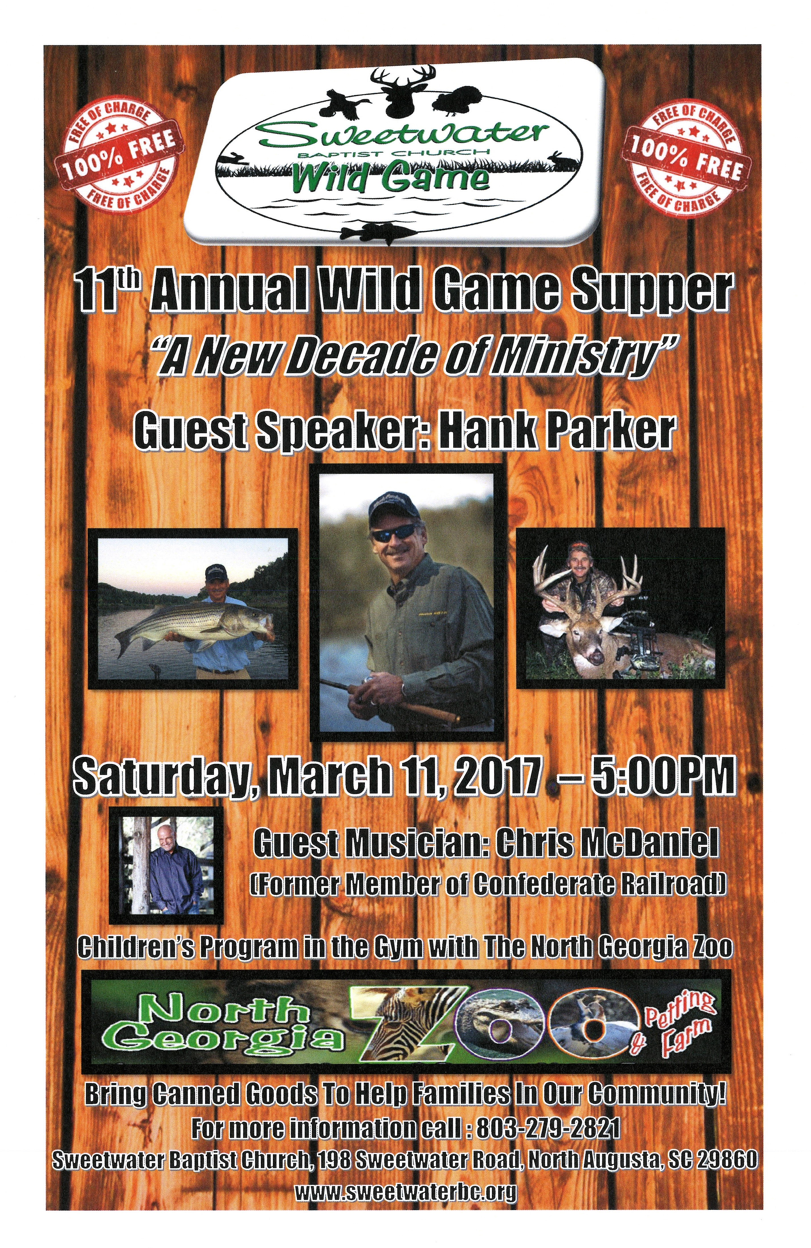 Wild Game Poster 2017